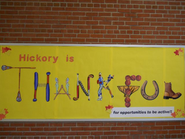 Hickory Elementary is Thankful (Thanksgiving) Image