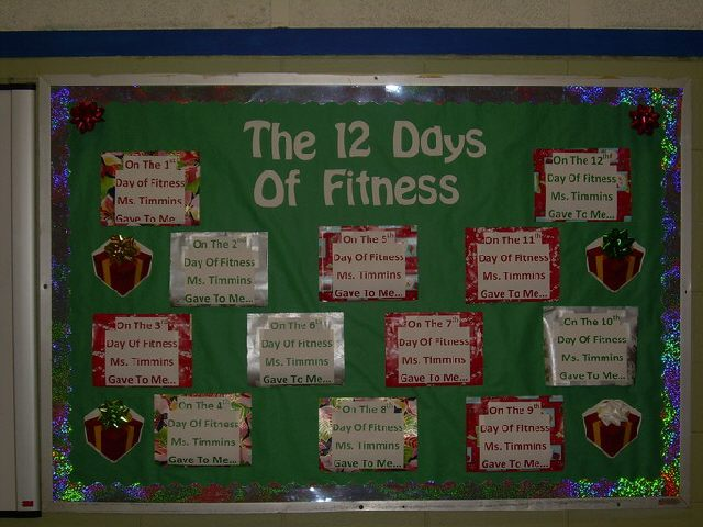 The 12 Days of Fitness (Christmas) Image