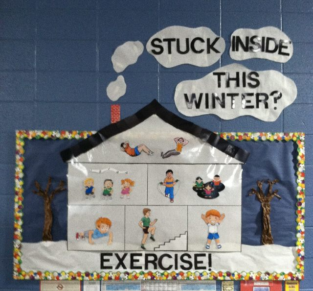 Stuck Inside This Winter?  EXERCISE! Image