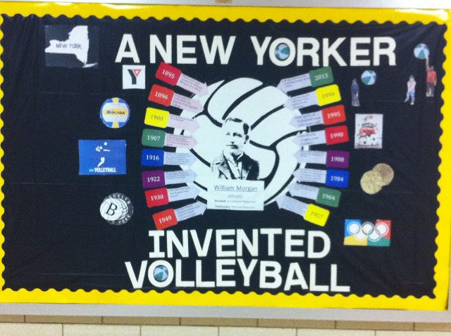 A New Yorker Invented Volleyball Image