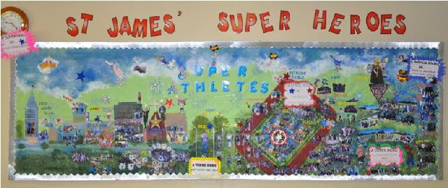 St. James PE Superheroes Image