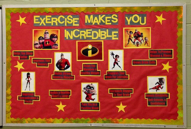 Exercise Makes You Incredible! Image