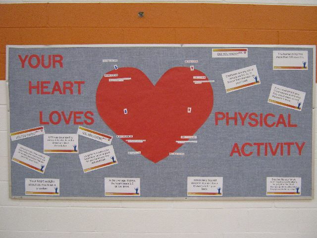 Your Heart Loves Physical Activity Image