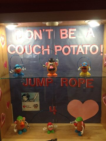 Don't Be A Couch Potato, Jump Rope For Heart Image