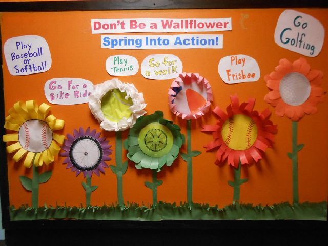 Don't Be a Wallflower - Spring Into Action! Image