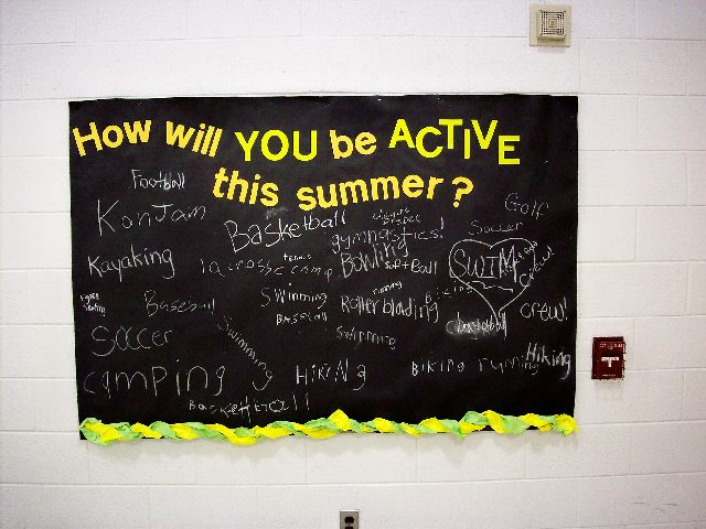 How will YOU be ACTIVE? Image