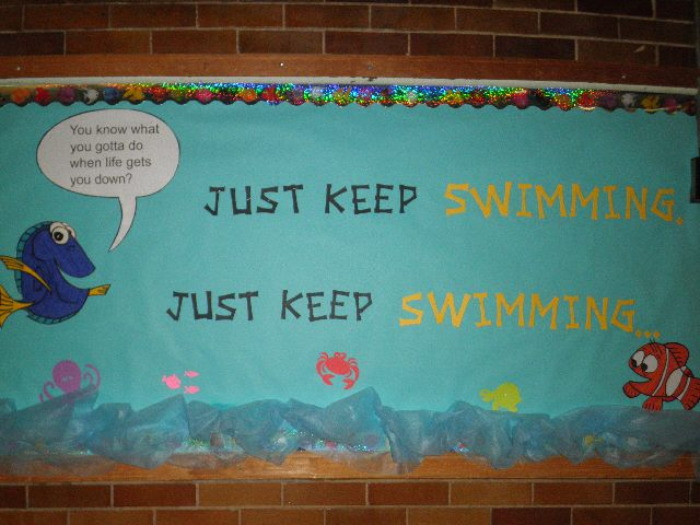 Just Keep Swimming Image