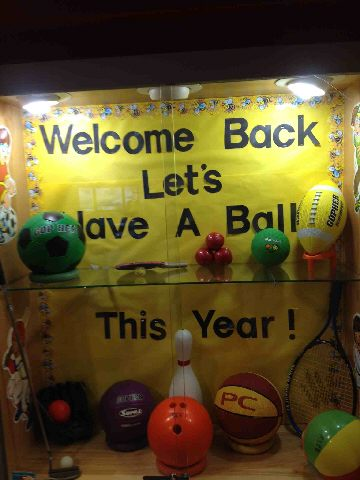 Welcome Back,  Let's Have A Ball This Year! Image