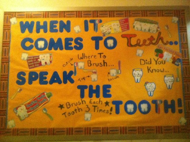 When it comes to your Teeth, Speak the Tooth Image