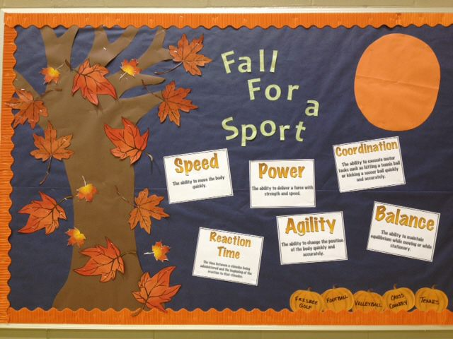 Fall for a sport Image
