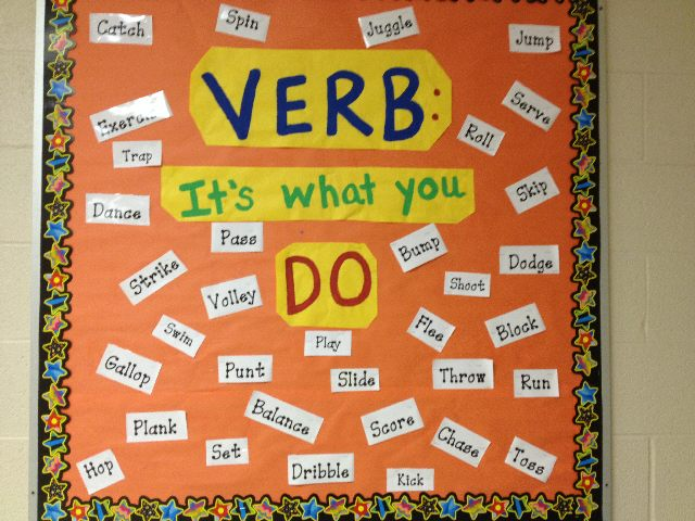 Verb: It's what you do! Image