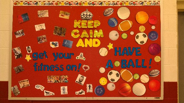 Keep Calm and...get your fitness on, have a ball Image