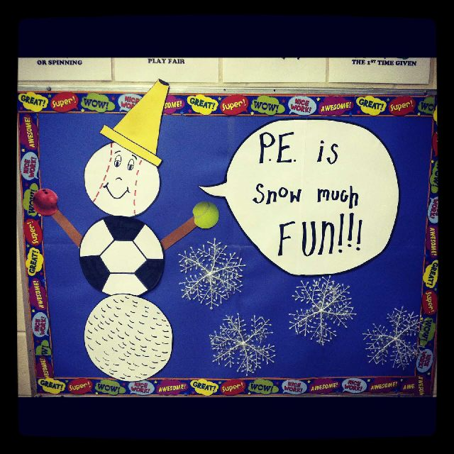 PE is Snow Much Fun Image