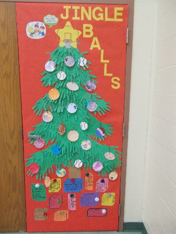 Jingle Balls Bulletin Board (Christmas) Image