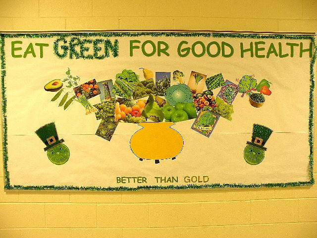 EAT GREEN FOR GOOD HEALTH (St. Patrick's Day) Image