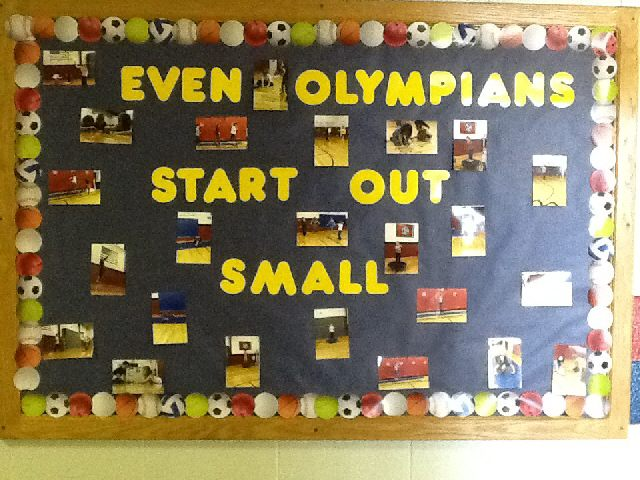 Even Olympians Start Small Image