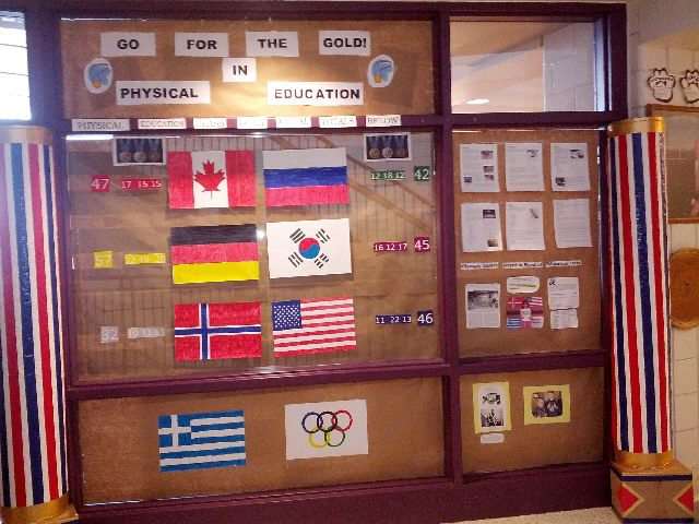 Go for the gold in Physical Education Image