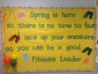 Spring Time is Fitness Time Image