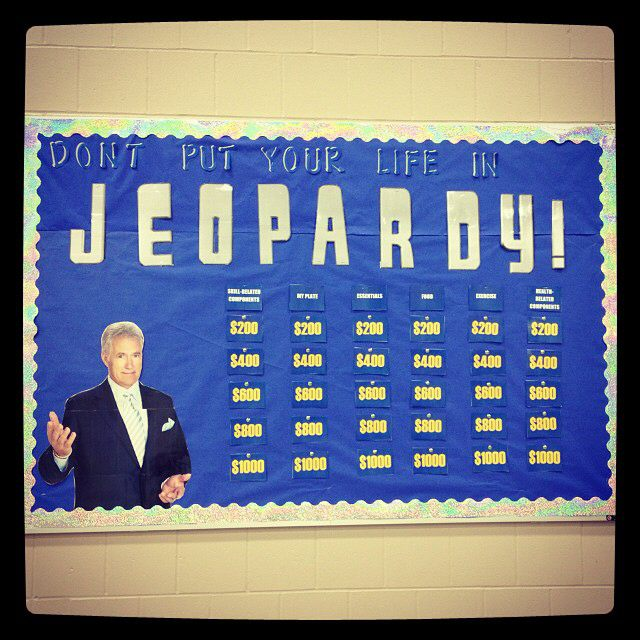 Dont Put Your Life In Jeopardy