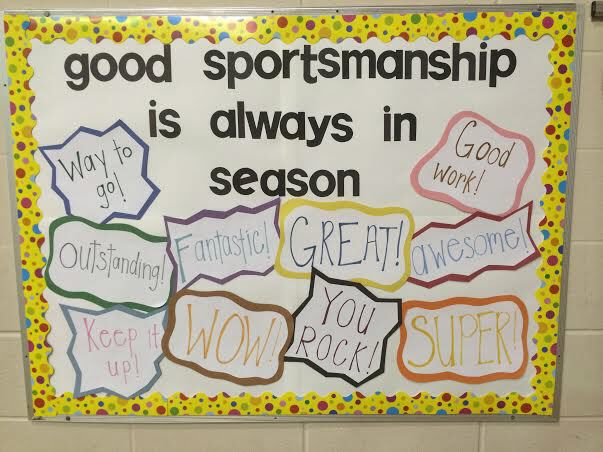 Good Sportsmanship is Always in Season Image