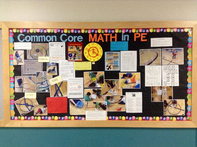 Common Core Math in PE Image