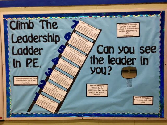 Climb The Leadership Ladder In P.E. Image