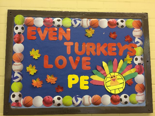 Even Turkeys Love Physical Education Image