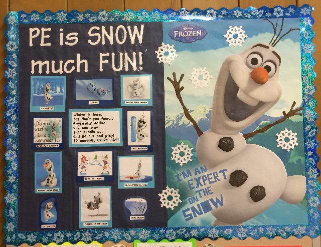 PE is SNOW much FUN! (Frozen) Image
