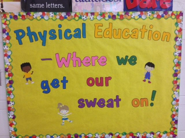 Physical Education - Where we get our sweat on! Image