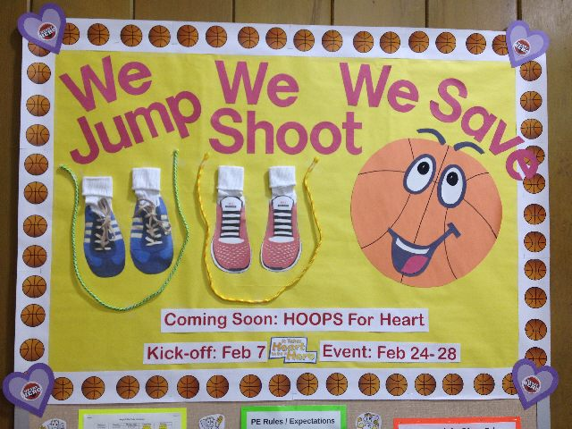 We Jump! We Shoot! We Save! Hoops For Heart Image