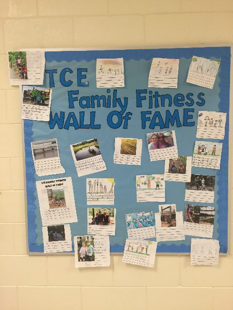 Family Fitness Wall of Fame Image