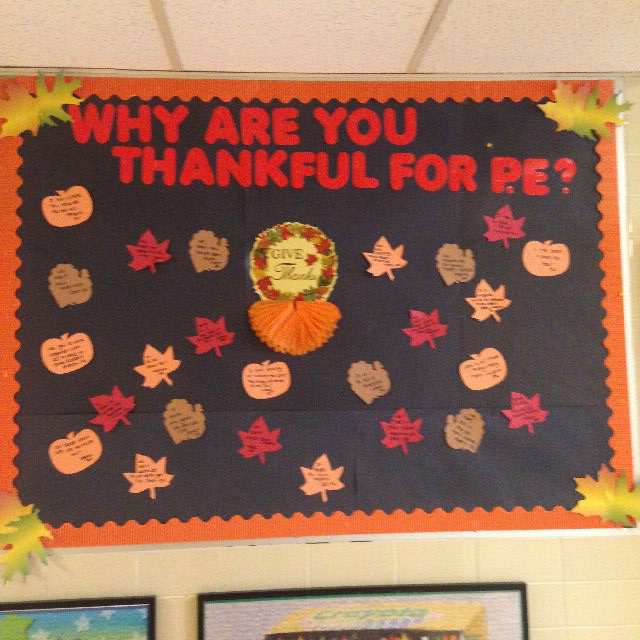 Why are you thankful for PE? Image