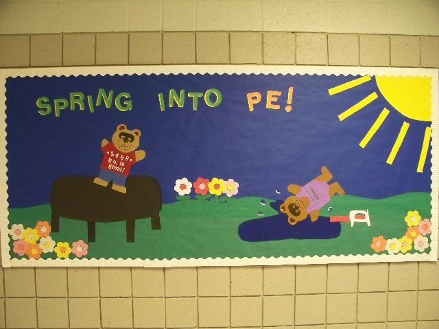 This was a motivational bulletin board for Spring time.