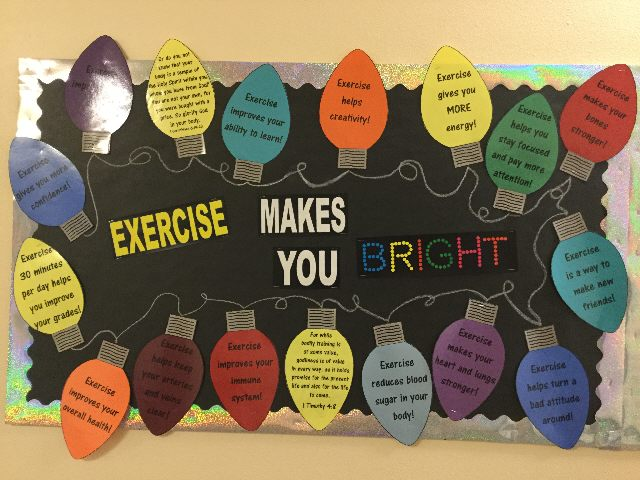 Exercise makes you BRIGHT Image