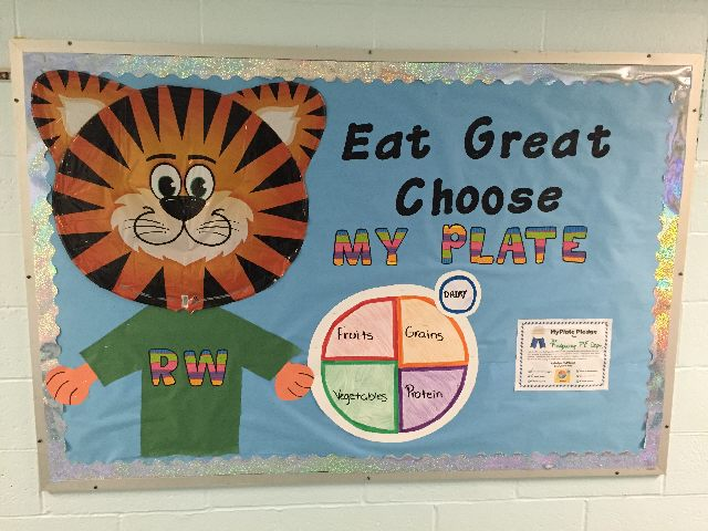 Eat Great, Choose MYPLATE Image