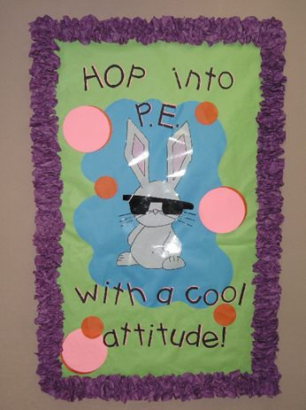Hop into P.E. with a Cool Attitude (Easter) Image