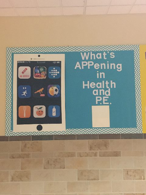What's APPening in Health and P.E. Image