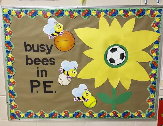 Busy Bees in PE Image
