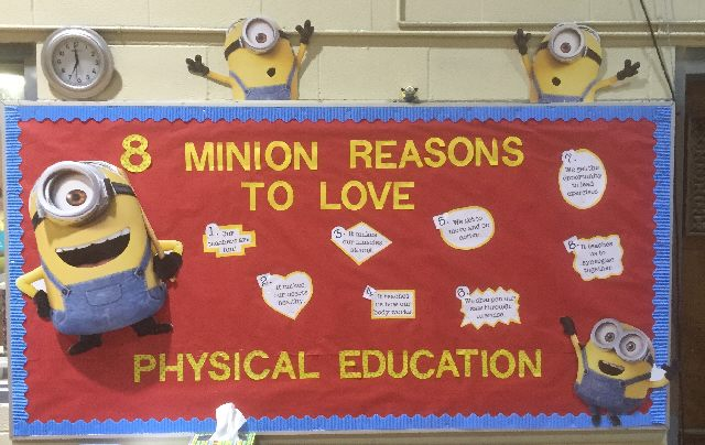 A Minion Reasons to Love Physical Education Image