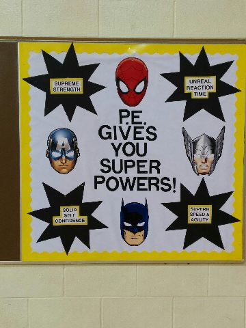PE gives you super powers! Image