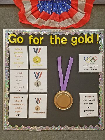 Go for the Gold - Self Assessment Olympics Rubric Image