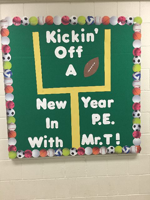 Kickin' Off a New Year in PE with Mr. T! Image