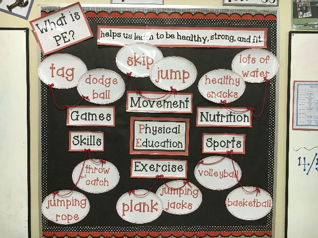 What is PE? and the Skills that We Work On! Image