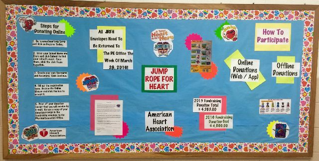 Jump Rope For Heart Donation Information Image