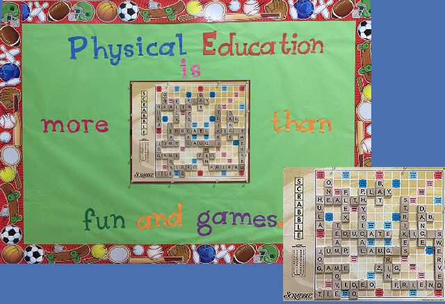 PE-More than fun and games-Scrabble Image