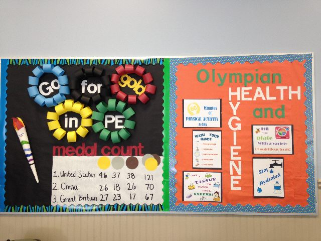 Go for the Gold in PE / Olympian Health & Hygiene Image
