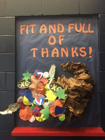 Thanksgiving- Fit and Full of Thanks Image