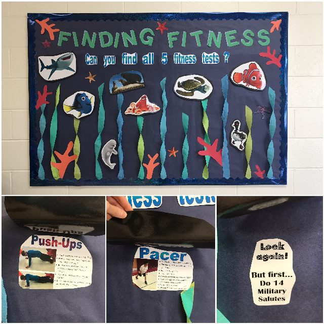 Finding Fitness Tests (Finding Dory Theme) Image