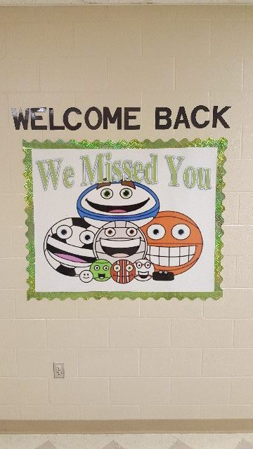 We Missed You (Back to School Board) Image