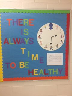 There is Always Time to Be Healthy Image